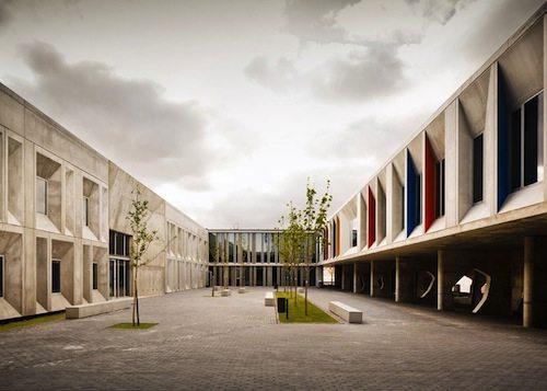 13. Braamcamp Freire Secondary School GÇô Lisbon, Portugal