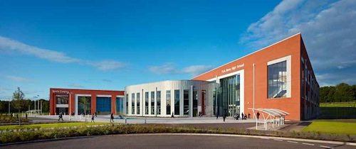 19. Park Mains High School Building GÇô Renfrewshire, Scotland