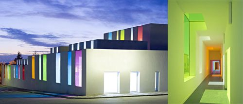 9. Educational Center GÇô Granada, Spain